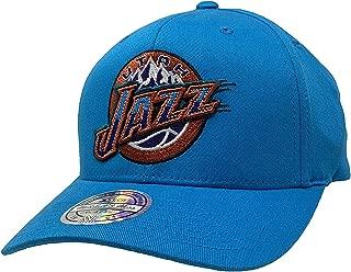 Mitchell & Ness Utah Jazz Adjustable Snapback Hat Basketball Cap