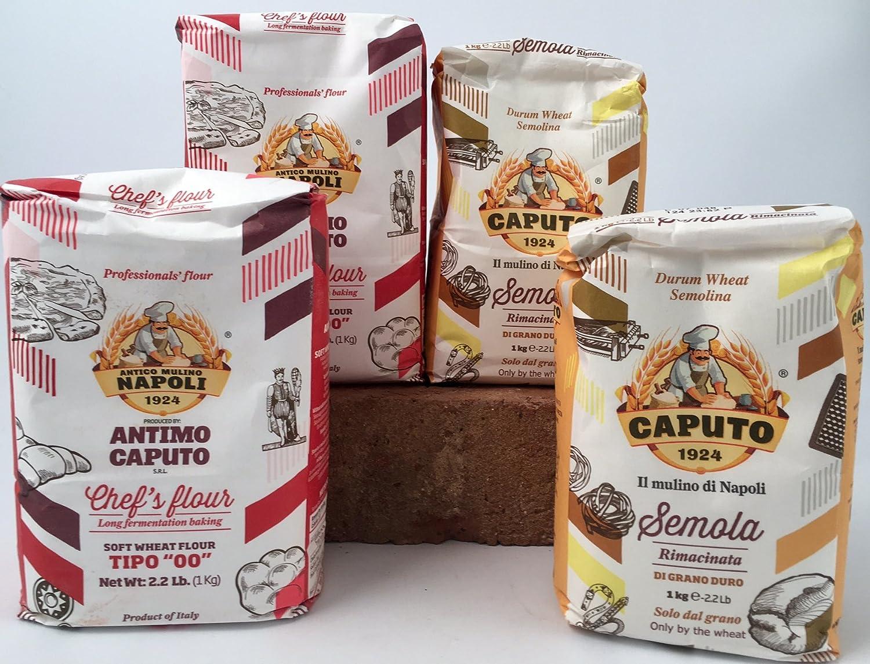 Molino Antimo Caputo '00' Flour bags Trust 4 + Max 65% OFF Semola