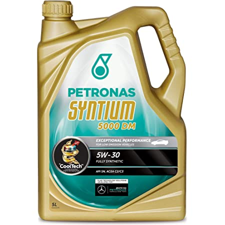 Petronas Syntium 5000 Dm 5w 30 5l 5 Litres Fully Synthetic Engine Oil Auto