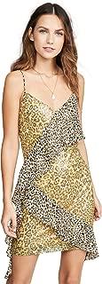 Women's Spangle Leopard Pattern Dress