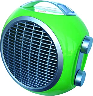 ARGO POP GREEN Calentador de ventilador Verde 2000 W - Calefactor (Calentador de ventilador, Piso, Mesa, Verde, Giratorio, 2000 W, 1000 W)