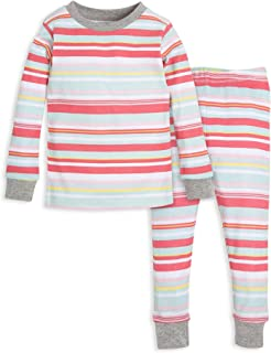 Baby Girl's Pajamas, Tee and Pant 2-Piece Pj Set, 100%...