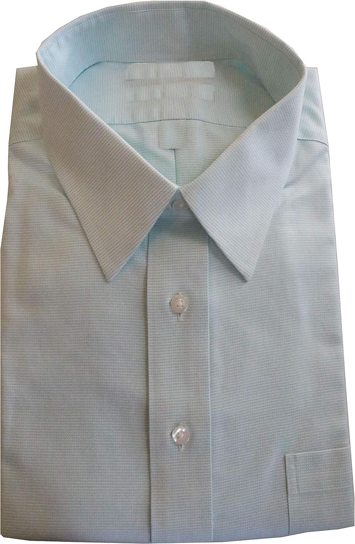 Gold Label Roundtree & Yorke Non-Iron Regular Point Collar Plaid Dress Shirt G16A0159 Aqua