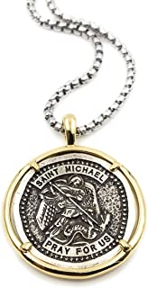 st michael protection amulet