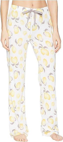 P.J. Salvage - Playful Prints Lemon Pants