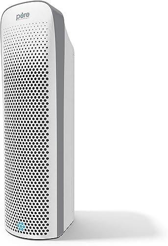 Pure Enrichment PureZone Elite True HEPA Large Room Air Purifier, UV Light Sanitizer, Air Quality Monitor, 4 Stage Fi...