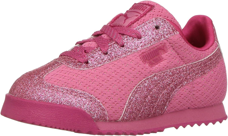 PUMA Sales Unisex-Child Roma Basic Sneaker Credence Glitz