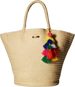 Beach Bazaar Straw Bag