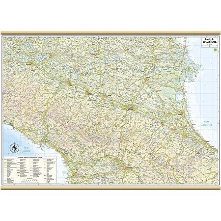 Cartina Muta Emilia Romagna.Carta Geografica Murale Regionale Emilia Romagna 100x140 Bifacciale Fisica E Politica Amazon It Cancelleria E Prodotti Per Ufficio