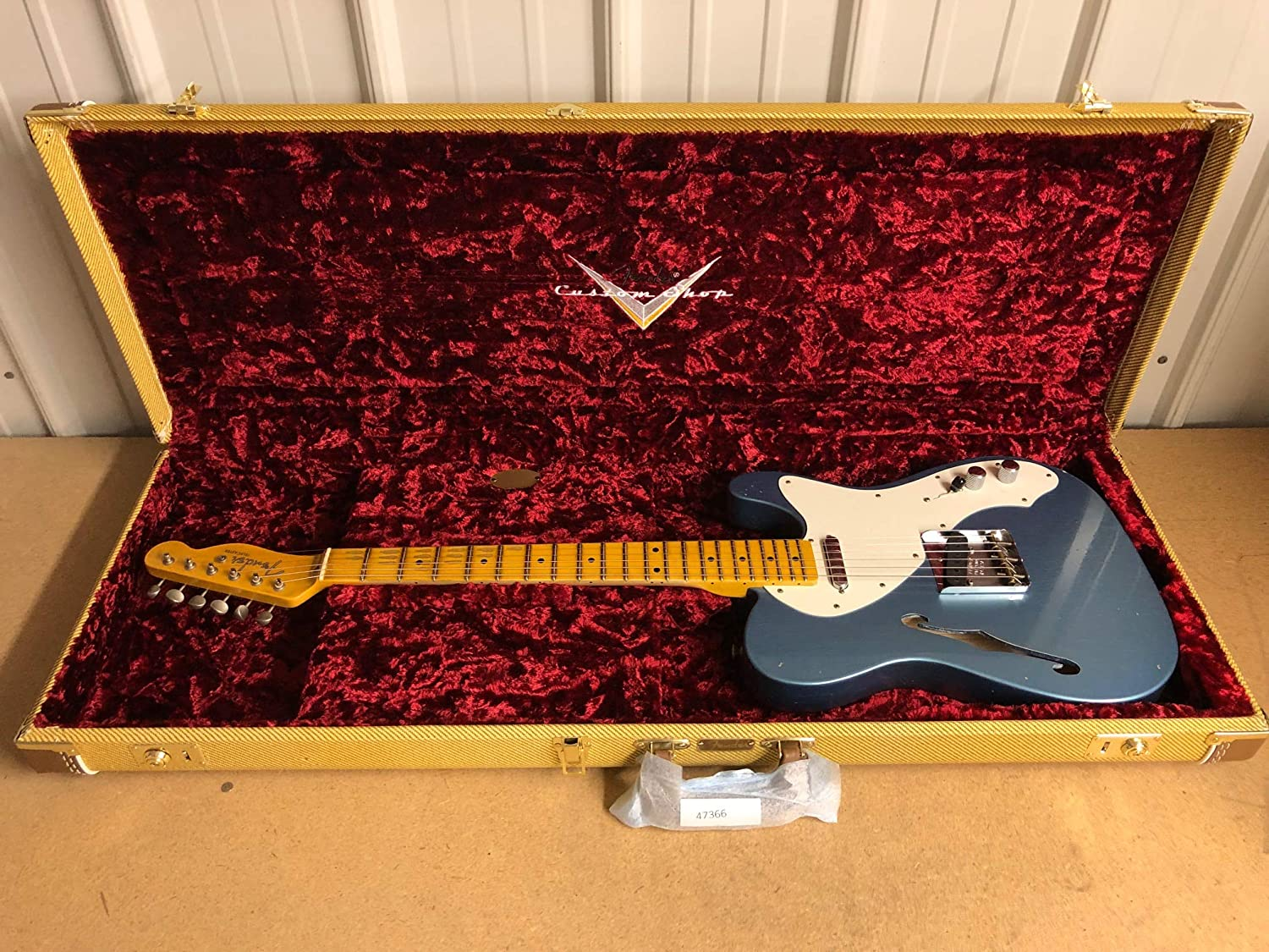 Fender Fees New popularity free 50s Thinline Journeyman Relic Faded Ag Super Telecaster -
