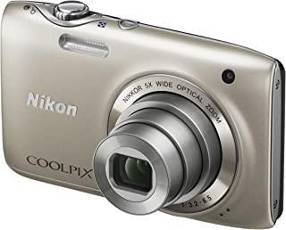 Nikon Coolpix S3100 Digitalkamera (14 Megapixel, 5 fach opt. Zoom, 6,7 cm (2,7 Zoll) Display, HD Video, bildstabilisiert) silber
