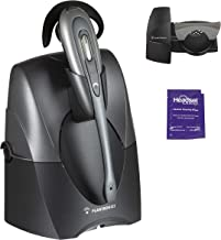 Plantronics CS55 Wireless Office Headset Included Bundle with Lifter and Headset Advisor Wipe (Renewed)