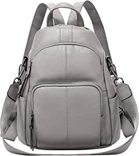 ALTOSY Soft Leather Backpack Purse For Women Anti-theft Backpacks Versatile Shoulder Bag