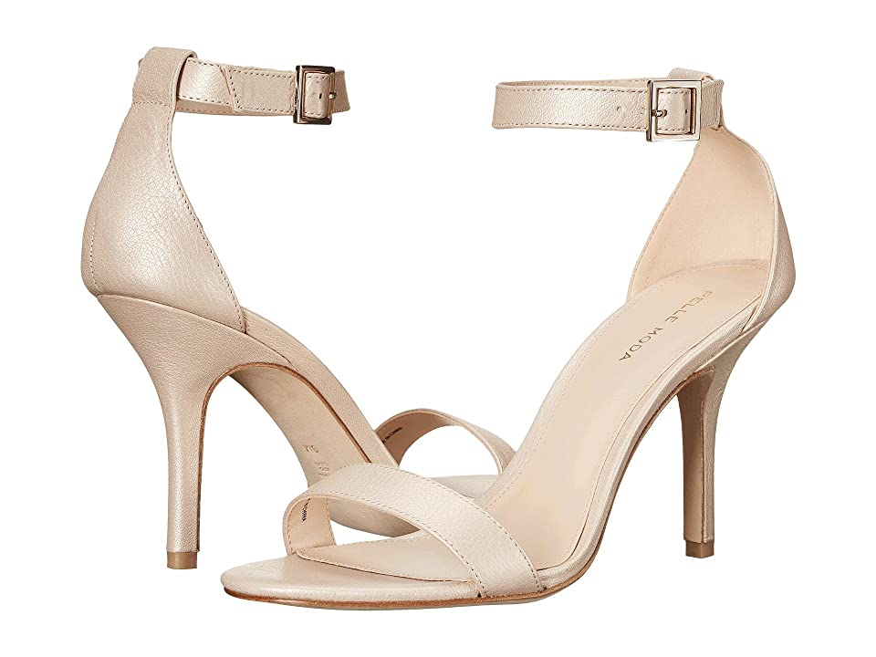 Pelle Moda Kacey (Cream Pearlized Nappa) High Heels