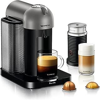 Breville BNV250TTN1BUC1 Vertuo Coffee and Espresso Machine, Titan
