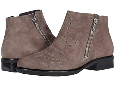 Naot Matagi (Taupe Gray Suede/Glass Silver) Women