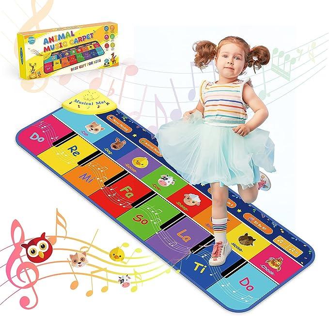 17 opinioni per BOXYUEIN Tappeto Musicale Bambini Tappetino Pianoforte Educativo con 7 Suoni di