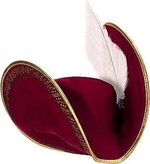 ديزني قبعة كابتن هوك للاطفال احمر