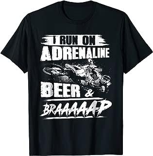 Adrenaline Beer And Braaap Tee Tshirt