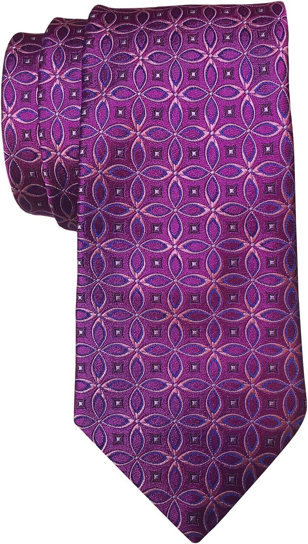 Ted Baker PInk Geometric Italian Silk Tie