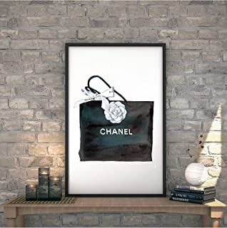 a77568eb865a King65irginia Chanel Bag Print Chanel Wall Art Chanel Printable Coco Chanel  Chanel Printable Art Fashion Print
