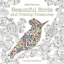 Beautiful Birds and Treetop Treasures (A Millie Marotta Adult Coloring Book)