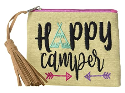 M&F Western Happy Camper Coin Purse (Tan) Coin Purse