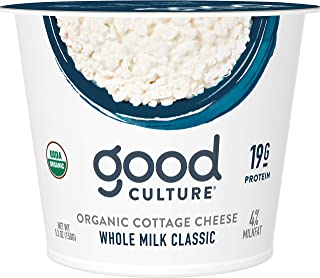 Good Culture Organic Cottage Cheese, Classic, 5.3 oz