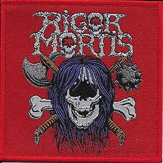 RIGOR MORTIS-FIRST ALBUM-WOVEN PATCH