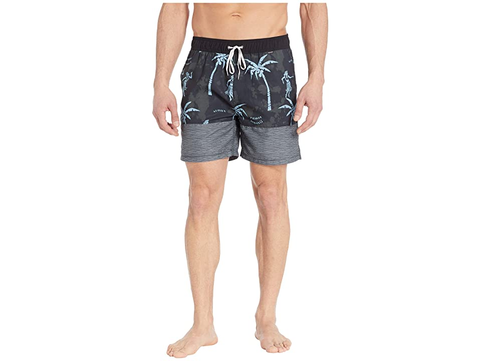 Hurley Aloha Only Volley 17 (Black) Men