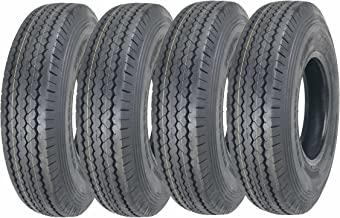 4 New ZEEMAX Heavy Duty Trailer Tires ST225/90D16 (7.50-16) 10 PR Load Range E - 11070