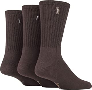 Mens 3 Pair Jeep Urban Trail Cotton Sports Socks In 3 Colours