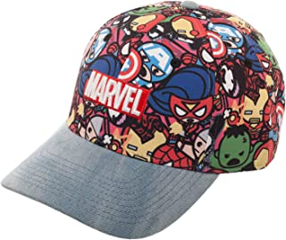 bioWorld Marvel - Official Kawai Superheroes Baseball Cap Snapback -  Adjustable 6275f64e7311