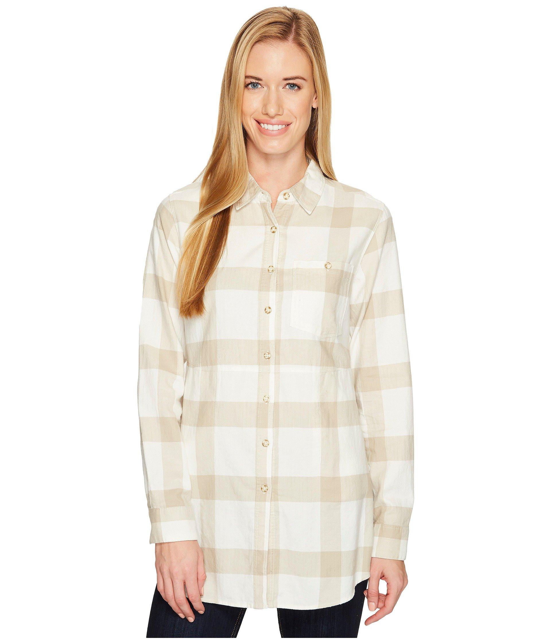 MOUNTAIN HARDWEAR Pt. Isabel Long Sleeve Tunic, Cotton
