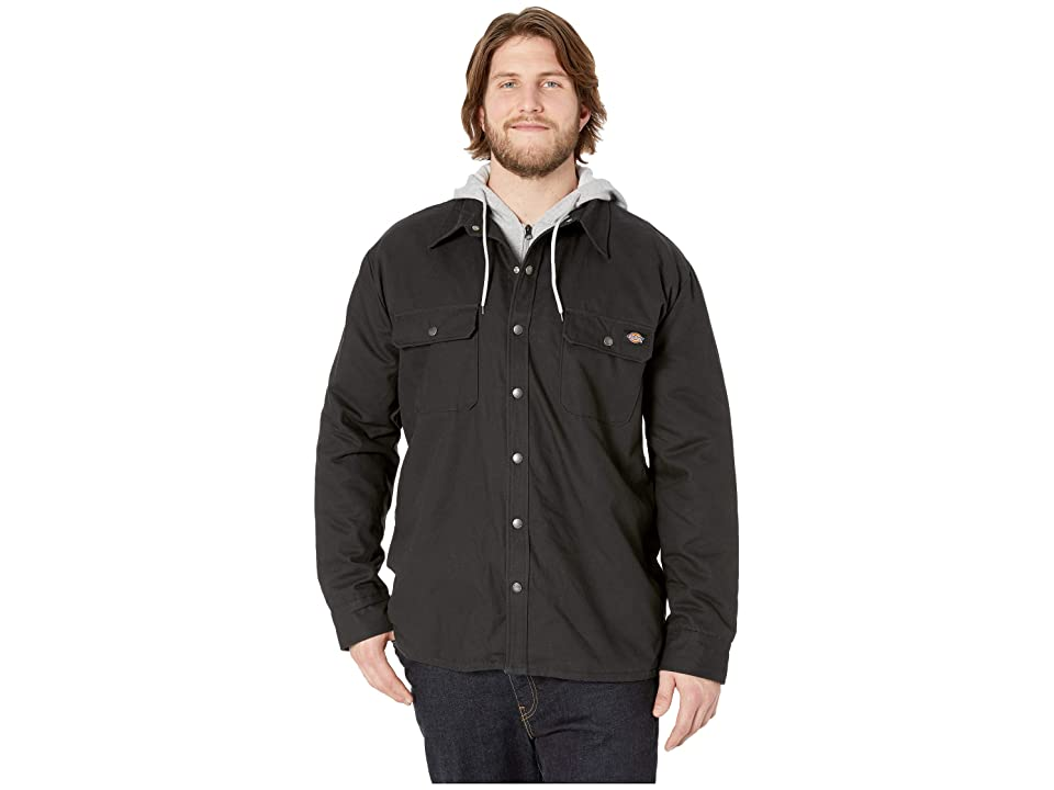Dickies - Dickies Big Tall Relaxed Fit Icon Hooded Duck Quilted Shirt Jacket