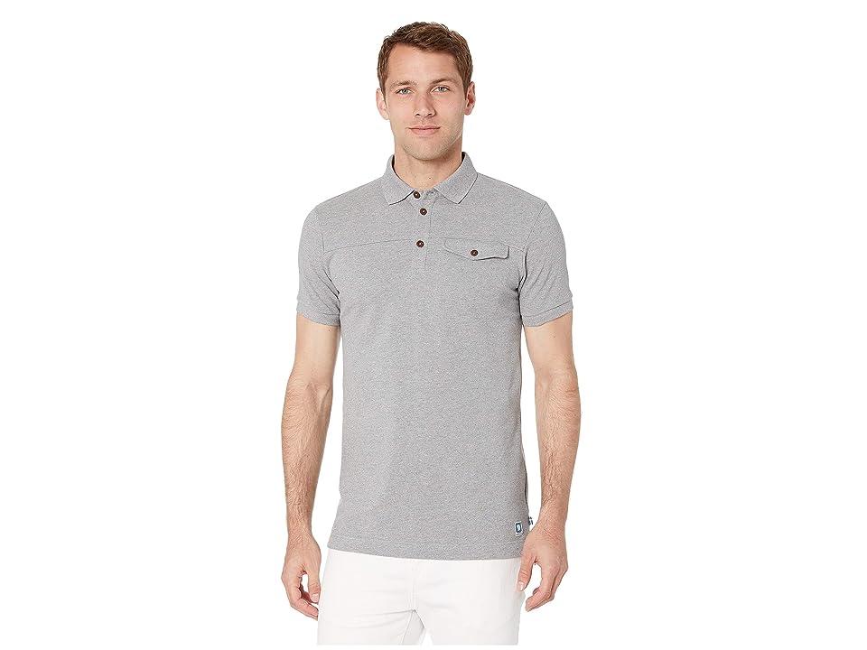 Fjallraven Greenland Polo Shirt (Grey) Men