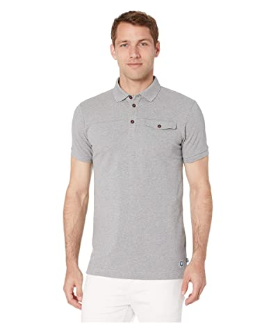 Fjallraven Greenland Polo Shirt (Grey) Men