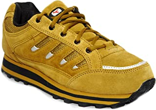 Lakhani 111 Camel Men Leather Sports Running Shoe