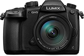 كاميرا بانسونيك DC-GH5S، 20.3 ميجابيكسل، كاميرا غير عاكسة للجسم فقط