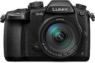 PANASONIC LUMIX GH5 Body 4K Mirrorless Camera, 20.3 Megapixel w/ LUMIX G 12-35mm F2.8 Lens, 1 Year Warranty