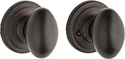 Kwikset Corporation 97200-836 Kwikset Laurel Hall/Closet Knob in Venetian Bronze