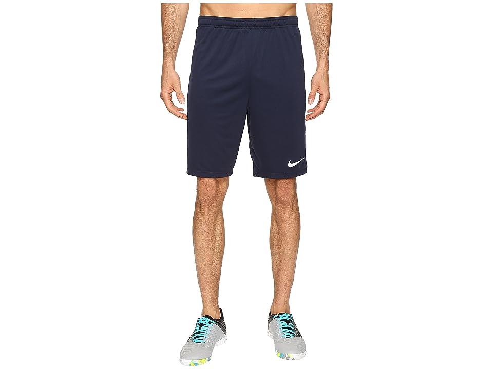 Nike Dry Academy Soccer Short (Obsidian/White/White/White) Men