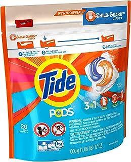 Tide PODS Laundry Detergent Ocean Mist Scent, 20 Count
