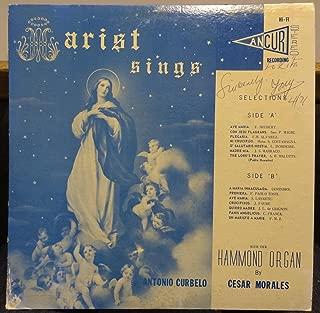 Antonio Curbelo & Cesar Morales Cantos Marianos vinyl record