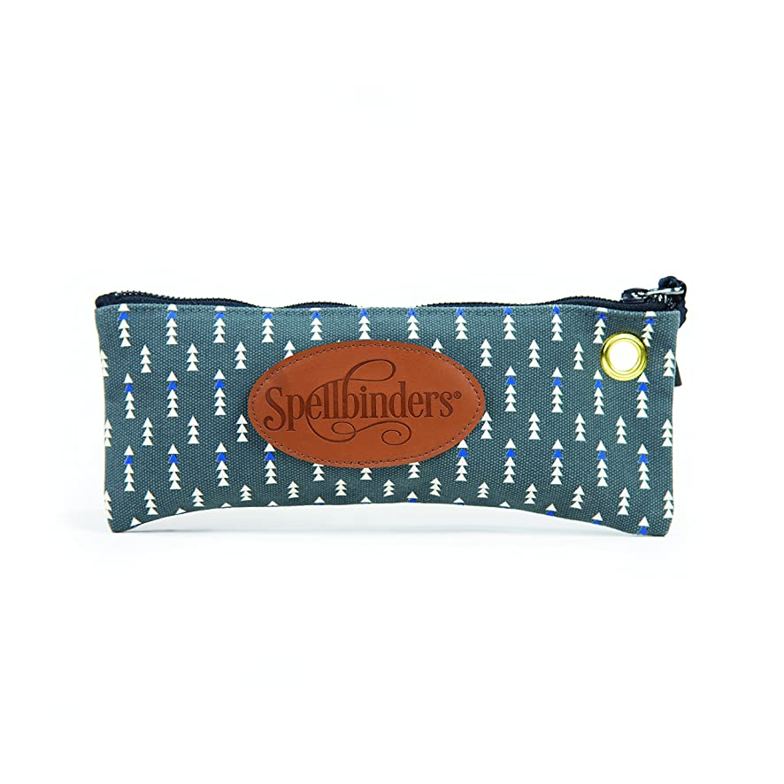 Spellbinders PL-115 Excess Baggage Zipper Storage Pouch, Small