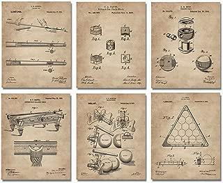 Billiards Patent Wall Art Prints - 8