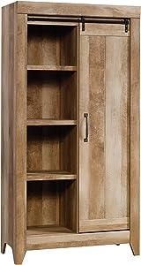 Sauder Adept Storage Cabinet, Craftsman Oak finish