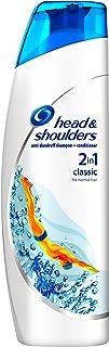 Head & Shoulders Classic Clean Anti-Dandruff 2-in-1 Shampoo, Six-Pack,6 x 225 ml, Clinically Proven Deep Clean, UK #1 Shampoo