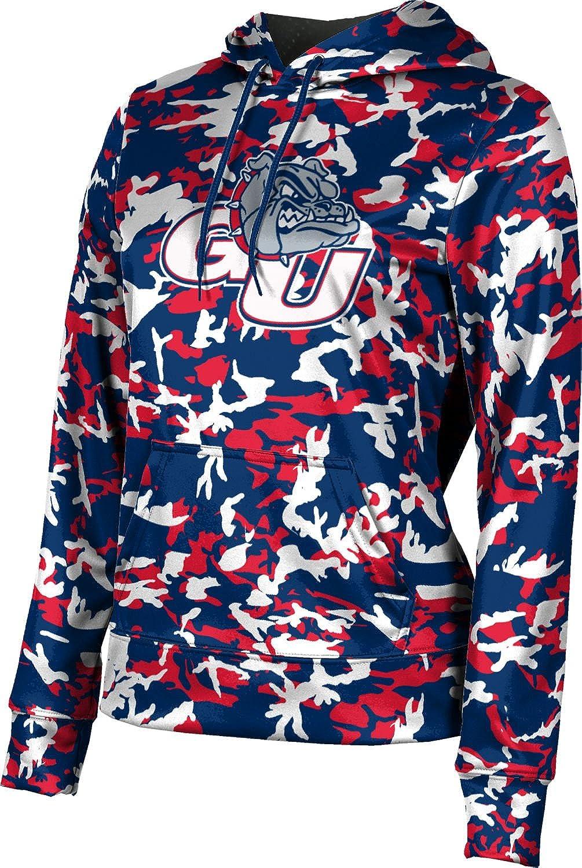 ProSphere Gonzaga University Girls' Pullover Hoodie, School Spirit Sweatshirt (Camo)
