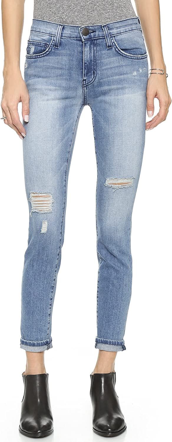 Current Elliott Women's The High Waist Ankle Skinny Jeans